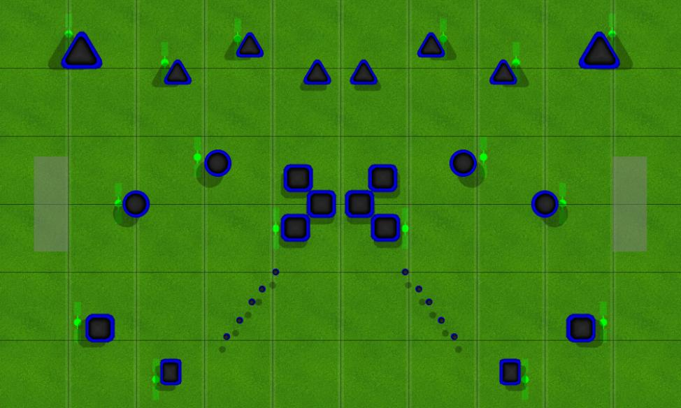 Small fun Paintball Field Image