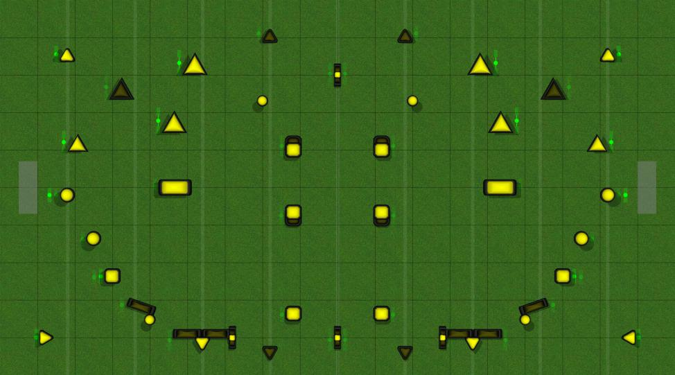 NXL LAYOUT Paintball Field Image