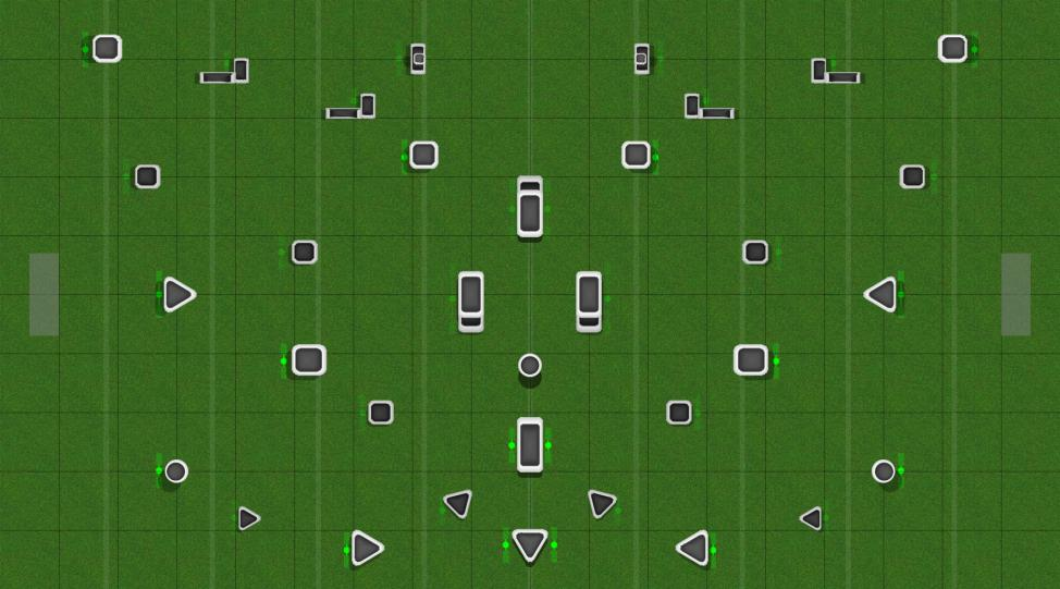 PNW MIXS Layout 2 (butterfly) Paintball Field Image