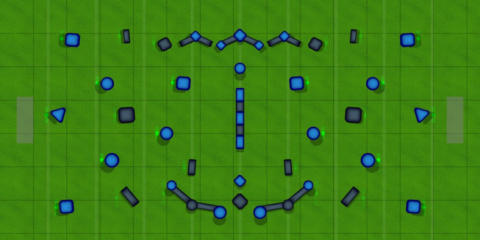 3v3 Alpha Map #2 Paintball Field Image