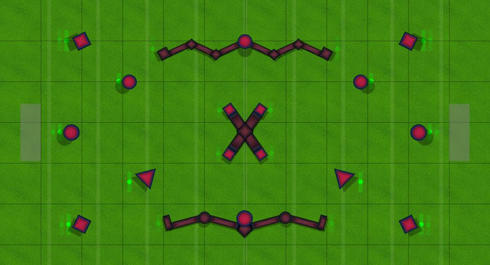 1v1 Alpha Map #1 Paintball Field Image